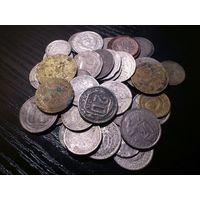 Солянка Монет Ранних советов с 1931-1957г 40 штук