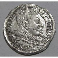 3 гроша 1593 Вильно герб Халецки