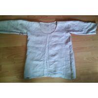 Рубаха лен старинная