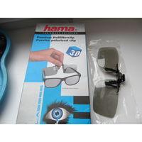 3D очки Hama с креплением на обычные очки.