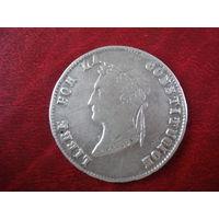 4 соля 1854 MF PTS (чекан Потоси, серебро 667) Боливия RR