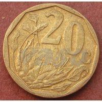 6076:  20 центов 2009 ЮАР