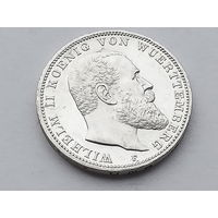 KM# 635 3 MARK 16.6670 g., 0.9000 Silver 0.4823 oz. ASW, 33 mm.