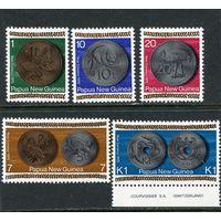 Папуа Новая Гвинея. Монеты на марках