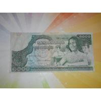 Камбоджа 1000риэль 1973г.
