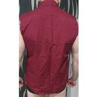 Эффектная рубашка без рукавов 48-50размер