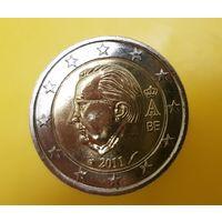 2 евро, Бельгия 2011 г. UNC