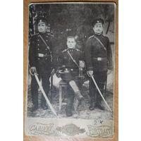 Фото военных Российской Императорской армии. 11х16 см.