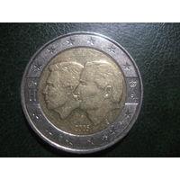 Бельгия 2 евро Бельгийско-Люксембурский союз 2005