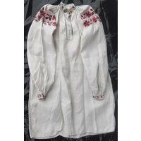 Сорочка домотканая льняная (рубашка, вышиванка) 1919-1923 гг.