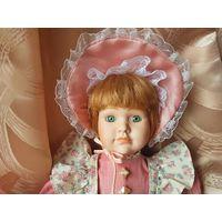 Кукла фарфоровая  (Германия, 40 см)