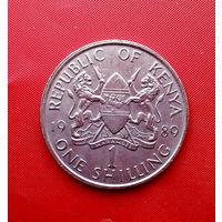 94-01 Кения, 1 шиллинг 1989 г.