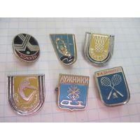 Шесть спортивных значков с рубля!
