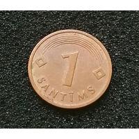 1 сантим 1992 Латвия #04