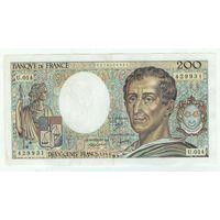 Франция 200 франков 1983 год. - RедкаЯ -