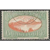 Гваделупа. Рейд на острове Сен. Пейзаж. 1928г. Mi#108.
