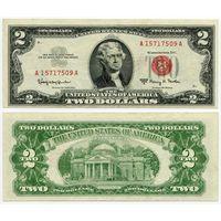 США. 2 доллара (образца 1963 года, 1963A, P382b)
