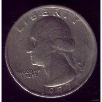 25 центов 1977 год США