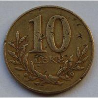 Албания 10 леков, 2000 г.