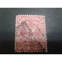 Ямайка, колония Англии 1906 герб