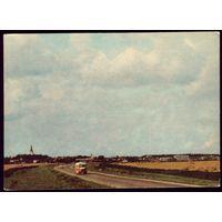 1968 год Эстония Вид города Кейла