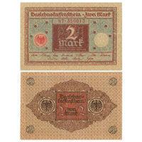 Германия. 2 марки 1920 г. [P.60]