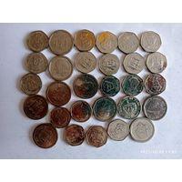 Монеты Ямайка с рубля.