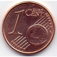 Кипр, 1 евро цент 2018 года.