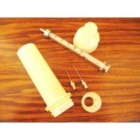 Инструмент медицинский (коллекция), лот No16: шприц 1мл с тубусом.