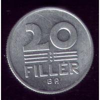 20 филлер 1983 год Венгрия