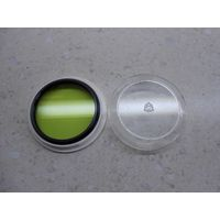 Светофильтр жёлто-зелёный ЖЗ-1.4х 52х0.75мм в футляре