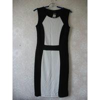 Деловое платье от C&A 36 размер евро (42 наш), вискоза
