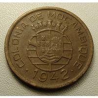 """Мозамбик """"Португальская колония"""" 10 сентаво 1942 год KM#72  Не частая!!!"""