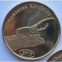 Суматра (Индонезия) 500 рупий 2019, жук