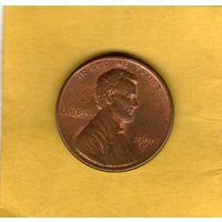1 цент 1990 D