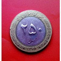 91-01 Иран, 250 риалов 1997 г.