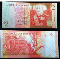 Банкноты мира. Тонга, 2 доллара