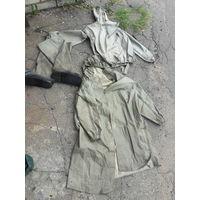 Бахилы, плащ, куртка  - мечта рыбака