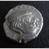 Древняя Индия. Государство (династия) Западные Каштрапы. Драхма I-IV век.-3