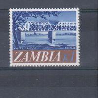 [1050] Замбия 1968.Мост.