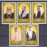 [9] Иордания 2003. Политика.Королевская династия.