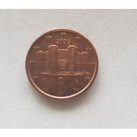 1 евроцент 2009 Италия