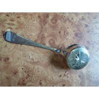 Половник- сито из серебра 900 пр 1829 год.