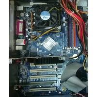 Материнская плата GA-8IPE1000G с процессором D330 и память 1 Гб DDR1
