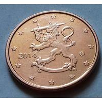 5 евроцентов, Финляндия 2014 г., AU