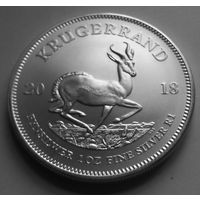 ЮАР 2018 серебро (1 oz)