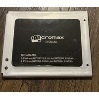 Батарейка Micromax 1750mAh, 3,8V Li-ion 6,65Wh (оригинал)
