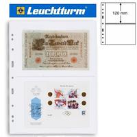 Leuchtturm OPTIMA 2C лист прозрачный для банкнот, 2 ячейки,