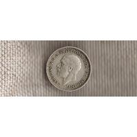 Великобритания 3 пенса 1935 Георг VI (Sp)