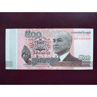 Камбоджа 500 риэлей 2014 UNC